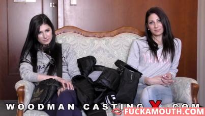 Woodman casts sisters!